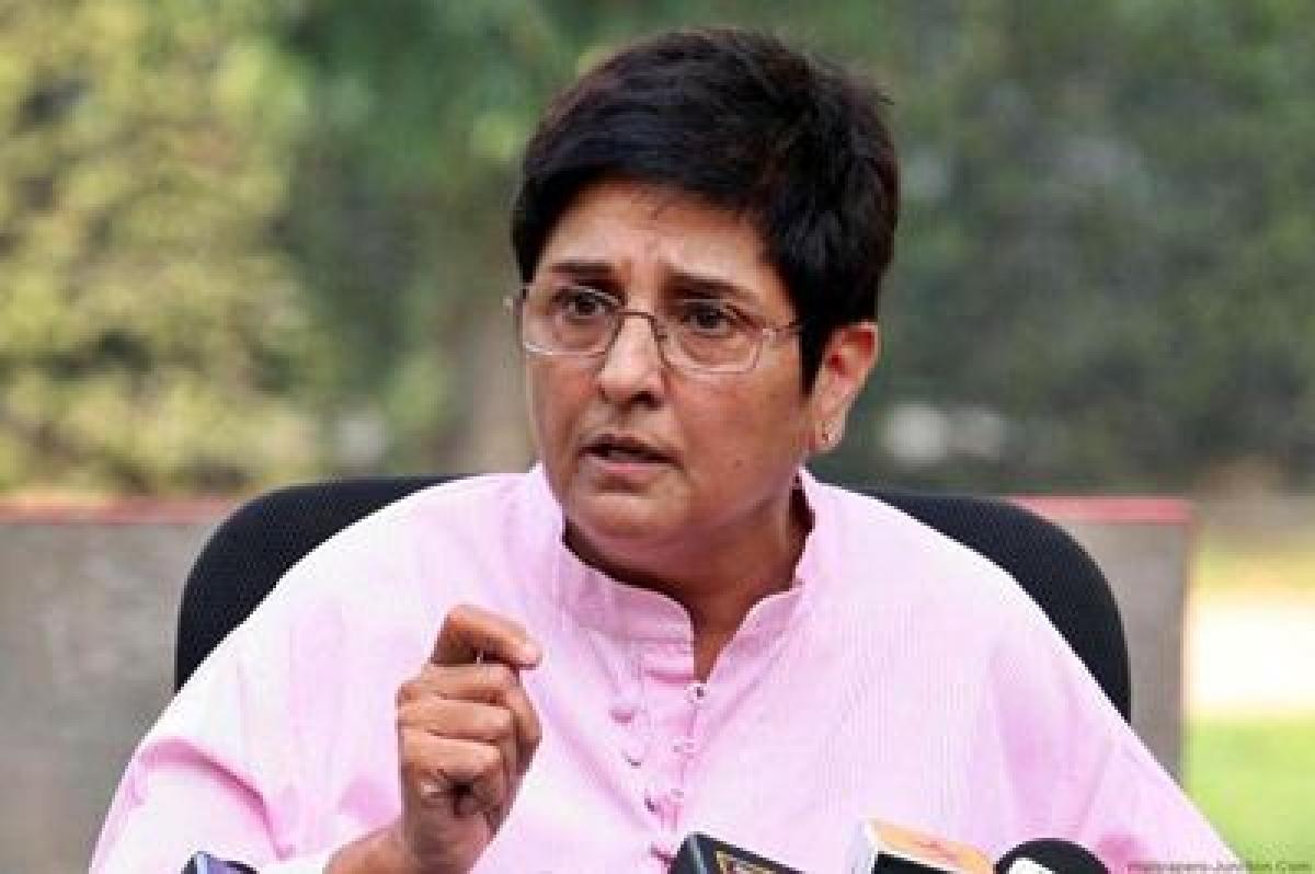 Puducherry Lieutenant Governor Kiran Bedi sacked