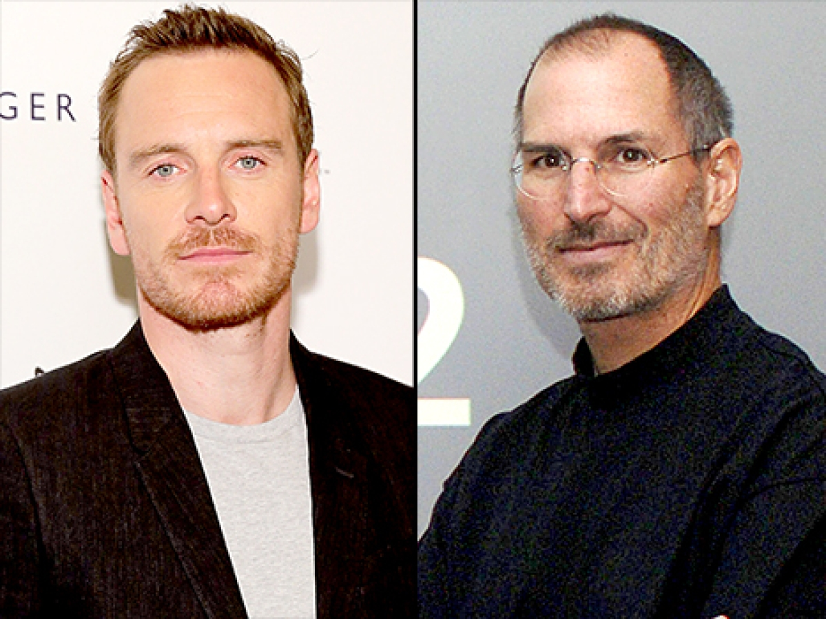 Fassbender jokes he 'studied Ashton Kutcher' for 'Steve Jobs'