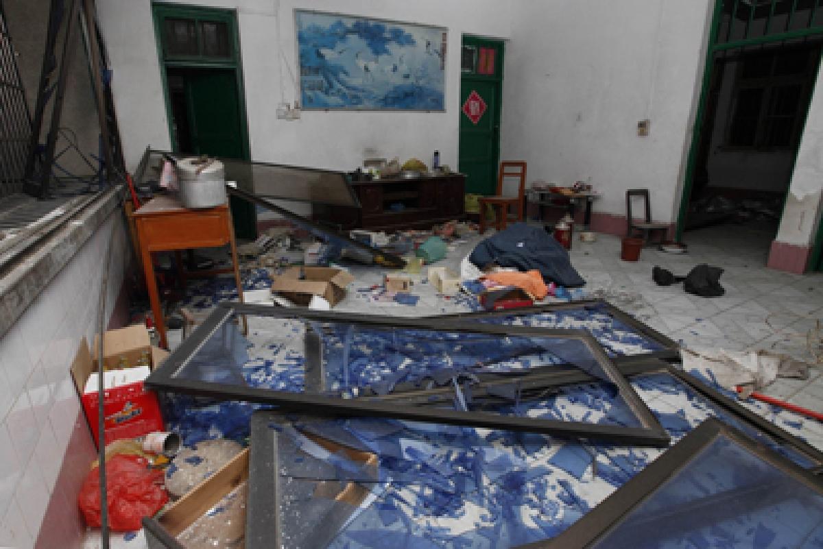 Massive parcel blasts inChina: 7 killed, 51 hurt