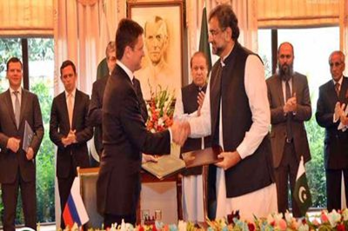 Pakistan, Russia ink MoU for construction of gas pipeline