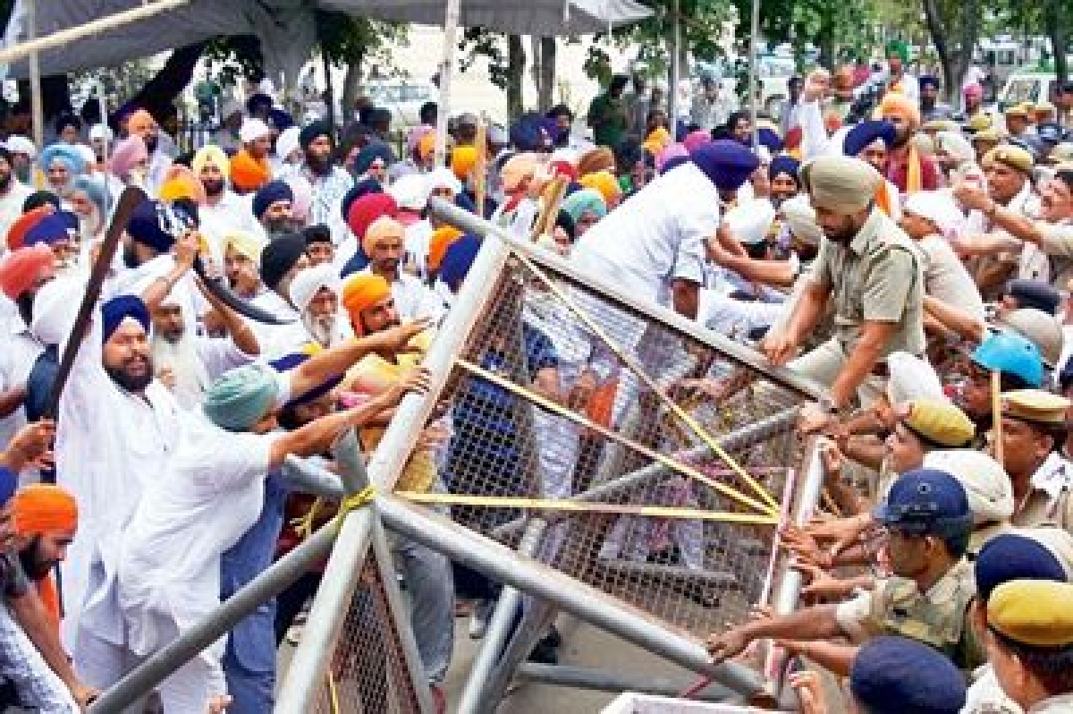 Protest escalates in Punjab over alleged desecration of religious texts