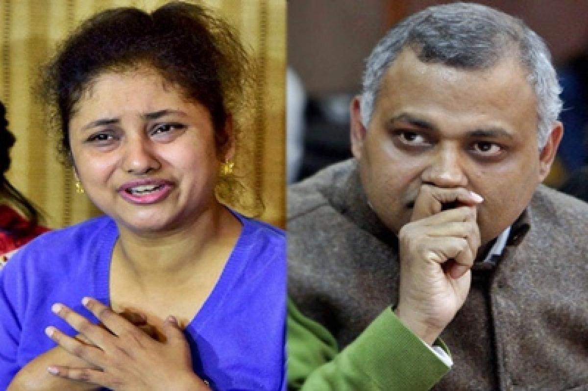 Won't join mediation, Somnath Bharti's wife tells SC