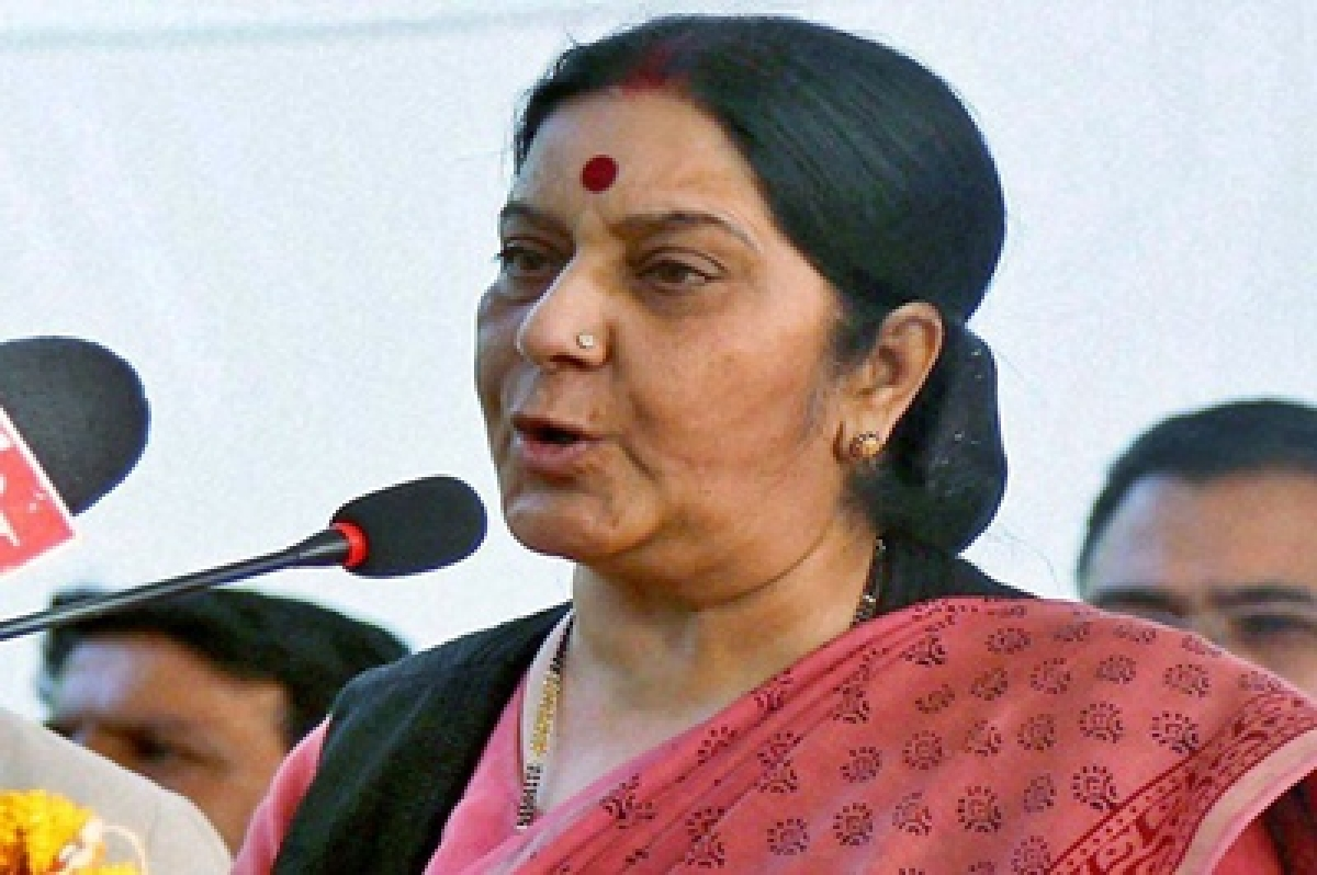 Making all efforts to secure Father Tom's release in Yemen: Sushma Swaraj