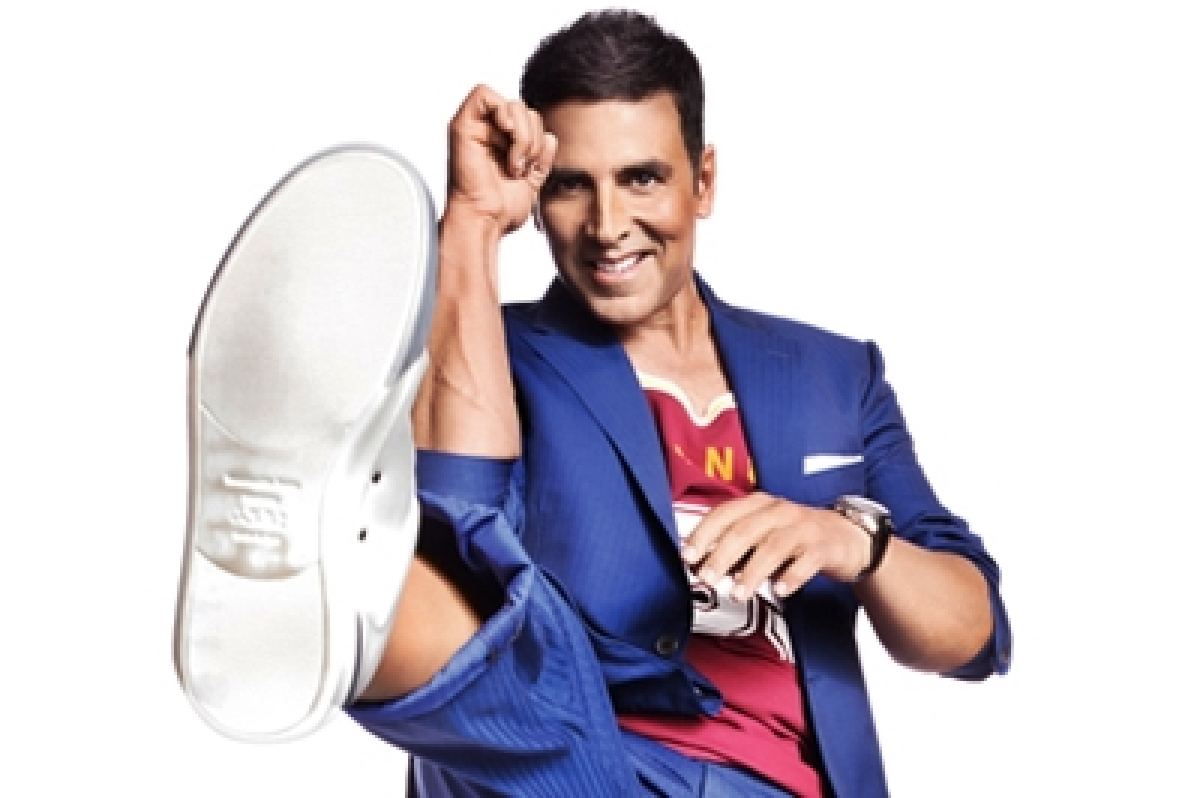 I take on passion and drive in my films – Akshay Kumar