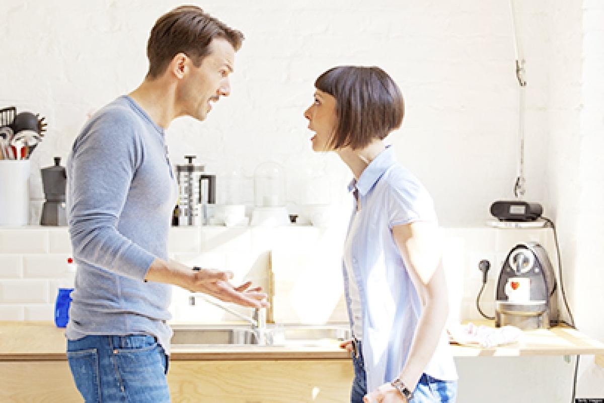 Marital strain makes  women sad, men livid
