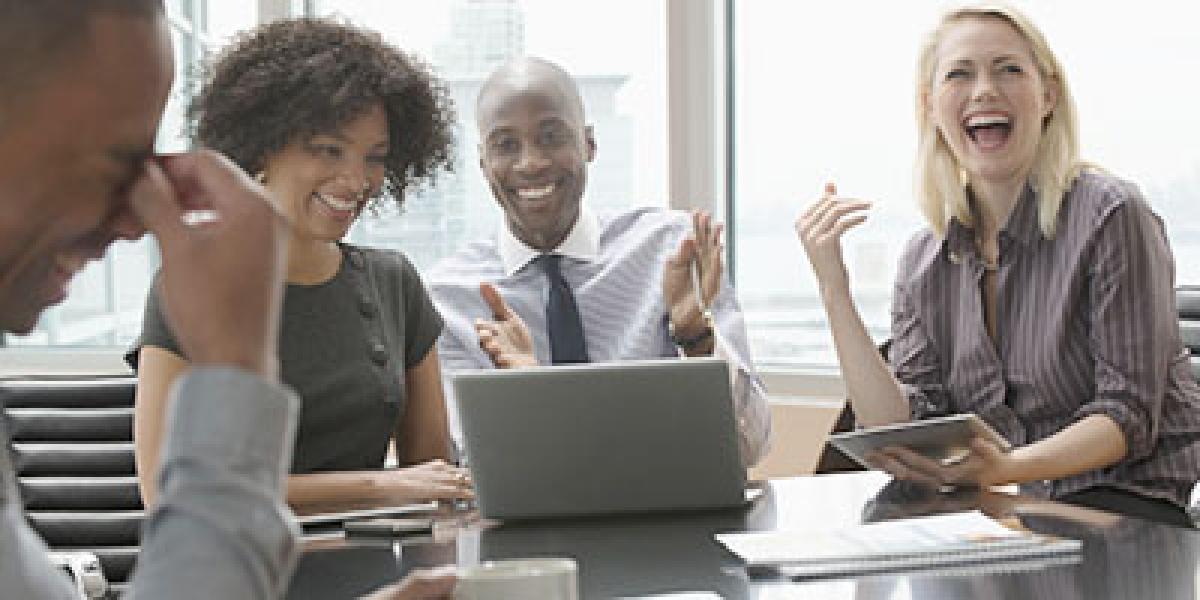At times, bad jokes by boss can improve job satisfaction