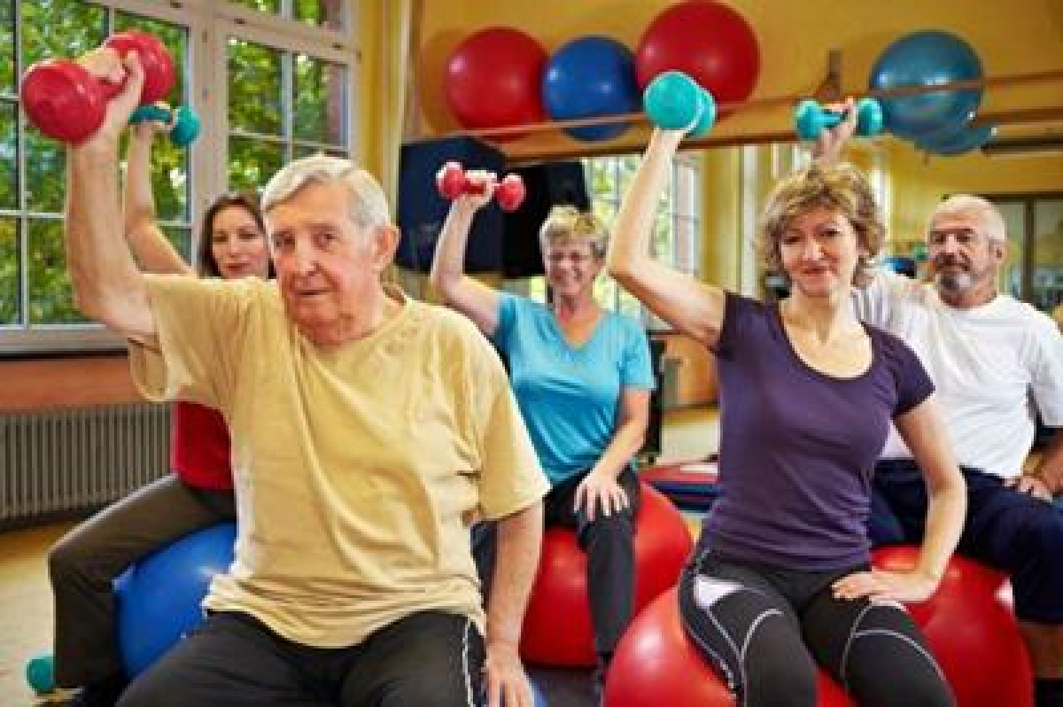 Intense 'light weight' exercise increases bone density in adults