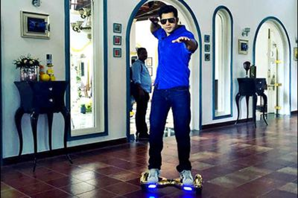 Varun Dhawan shares pictures of his new toy on Instagram