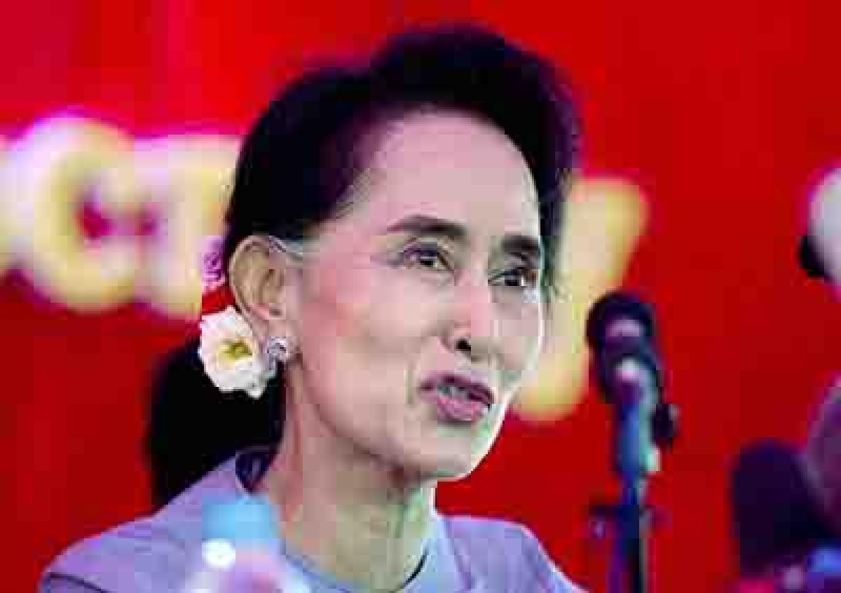 Myanmar's Suu Kyi goes on backfoot, to skip UN trip