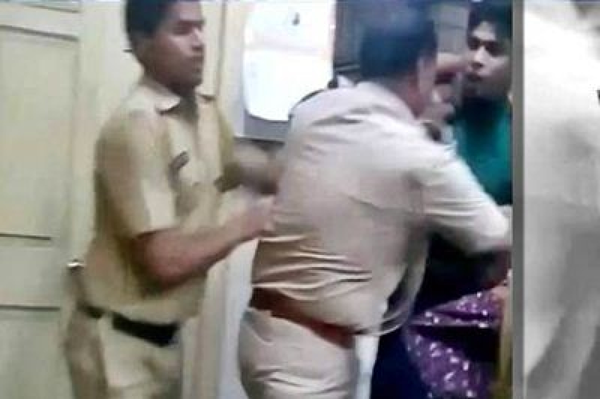 Video of cops beating man and woman goes viral, probe launched