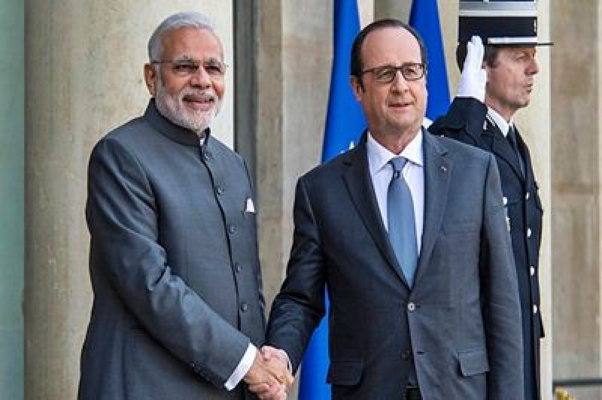 Modi likely to receive French President in Chandigarh