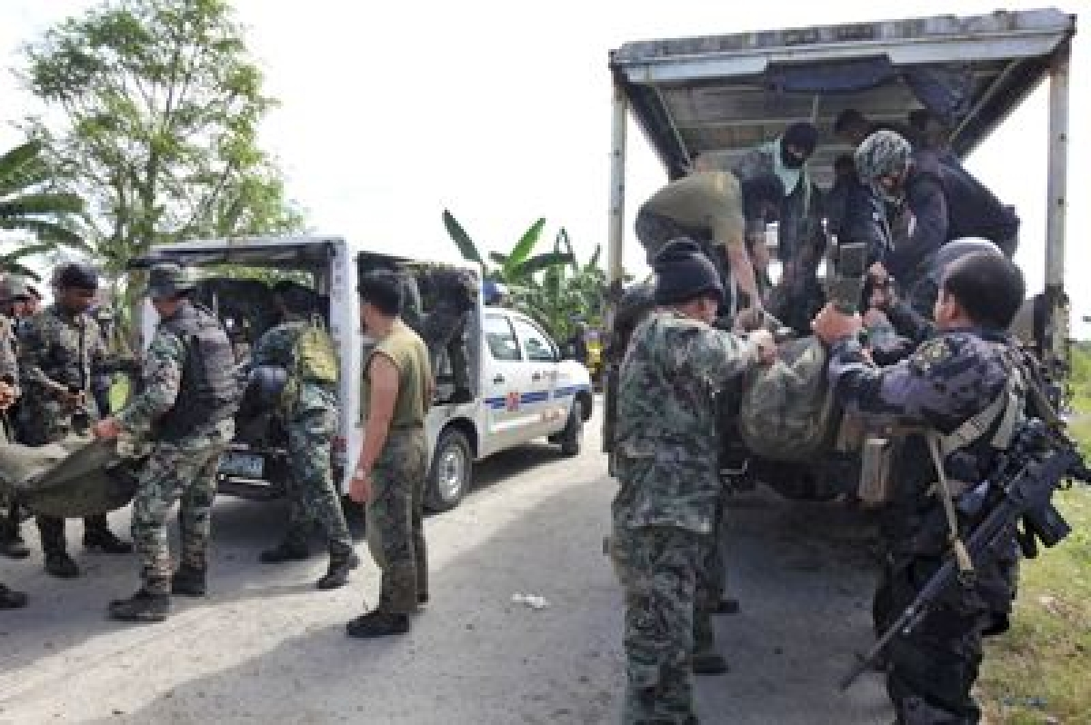 Eight IS supporters killed in Philippine clash