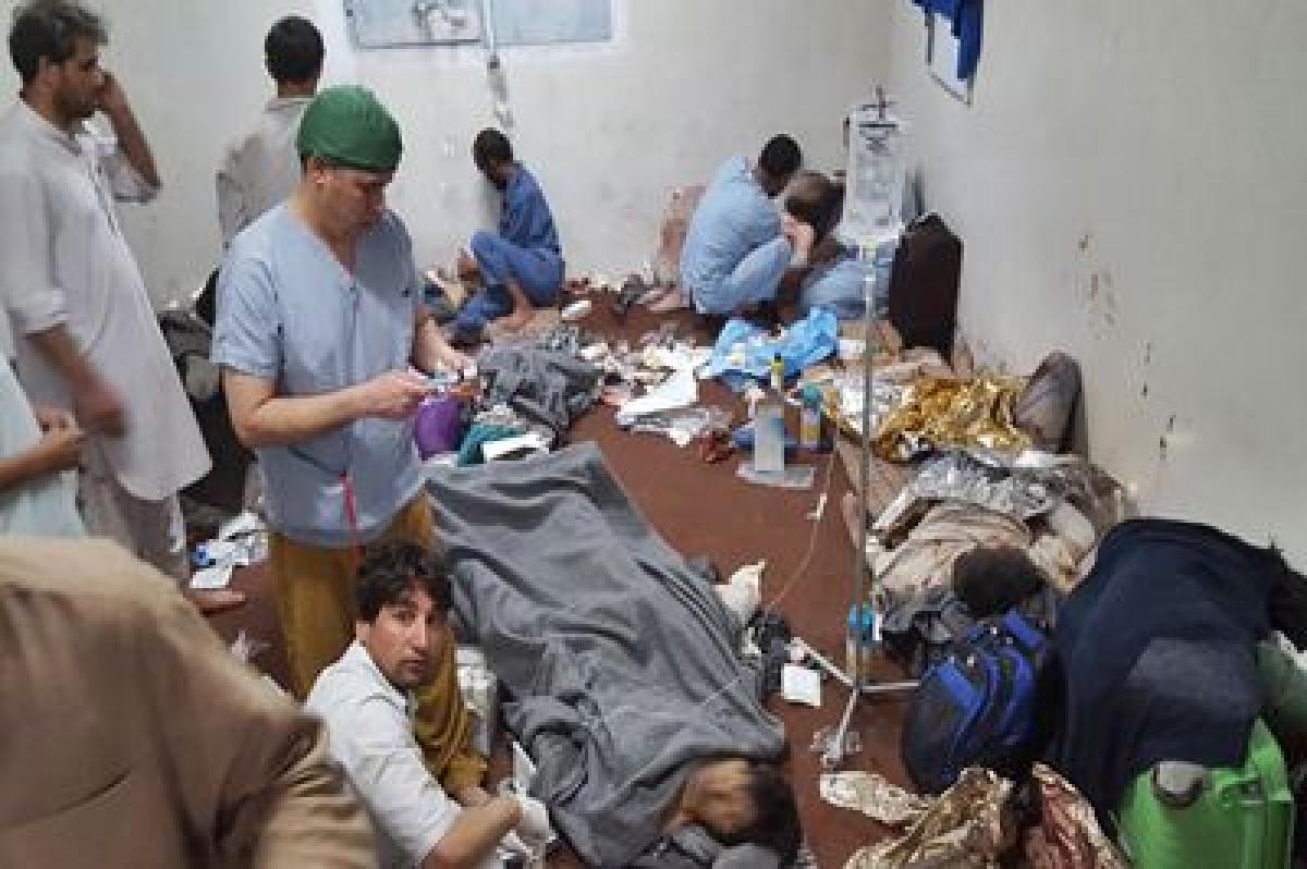 Bombing of Kunduz hospital a 'human error': US