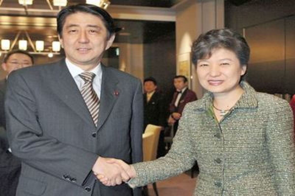 South Korea, Japan agree to speed up talks during summit