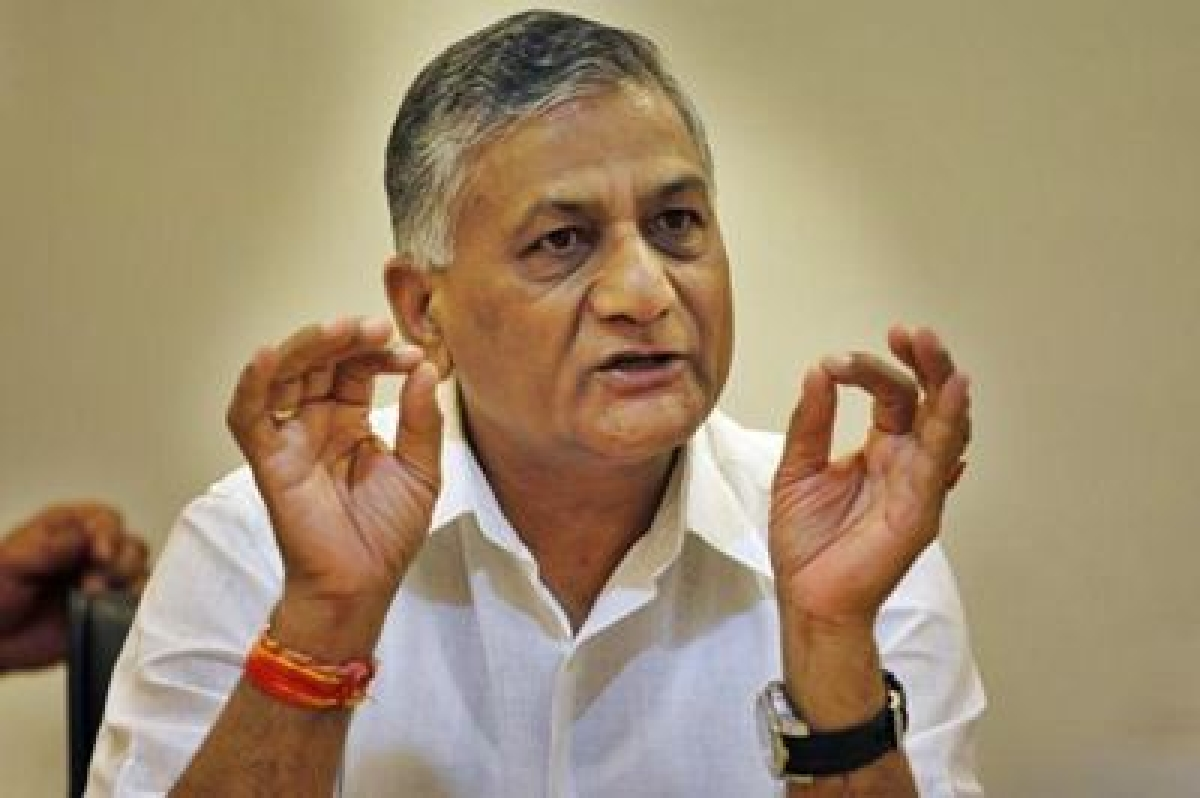 Intolerance debate created by those being paid money: VK Singh