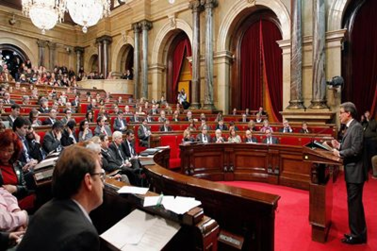 Catalan parl starts secession debate in showdown with Madrid