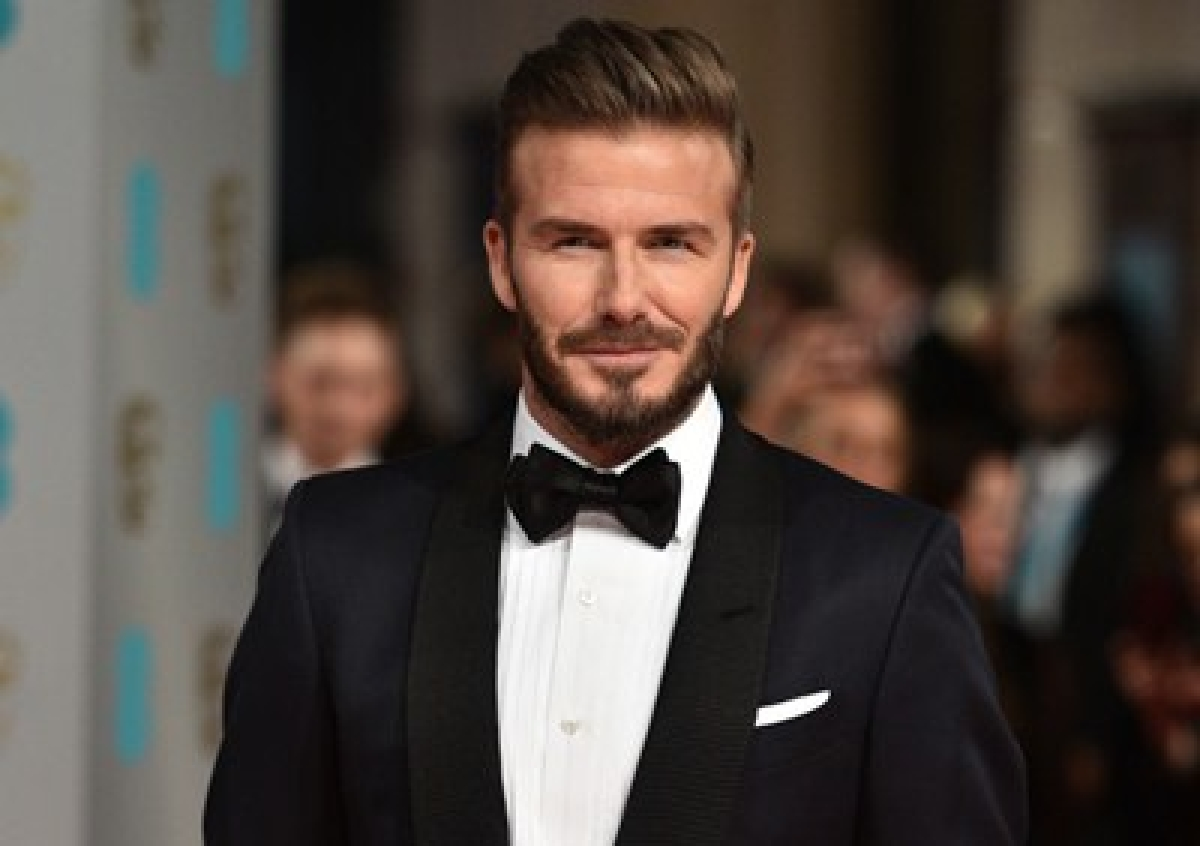 David Beckham named sexiest man alive