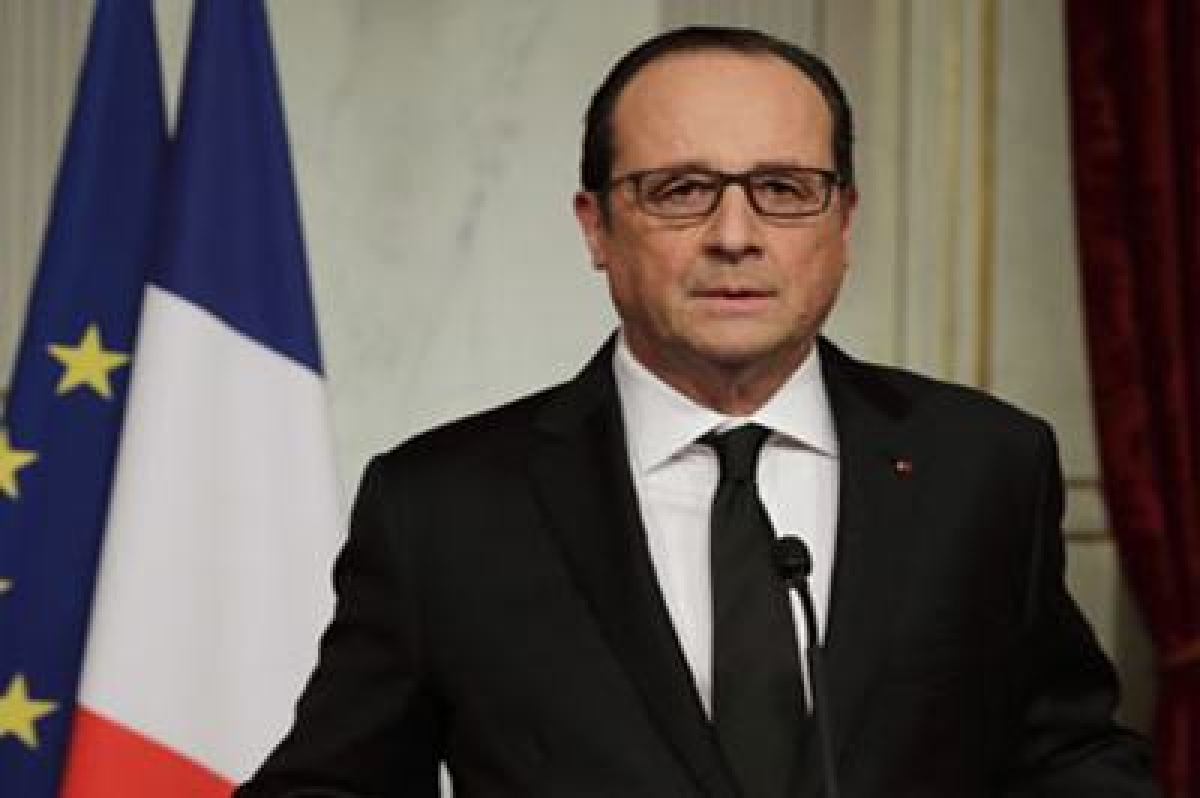 Francois Hollande leads tributes to 2015 terror attack victims in Paris