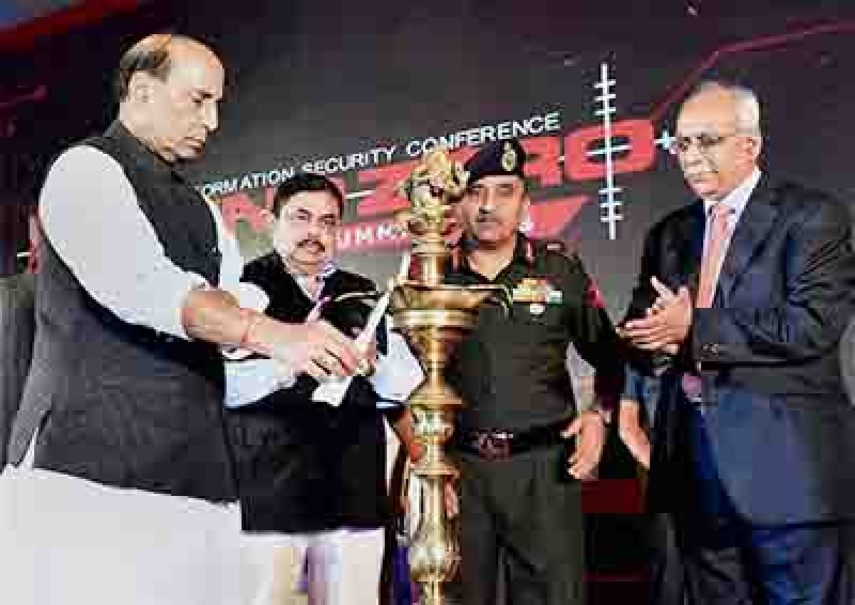 Rajnath warns against  threat from cyber crimes