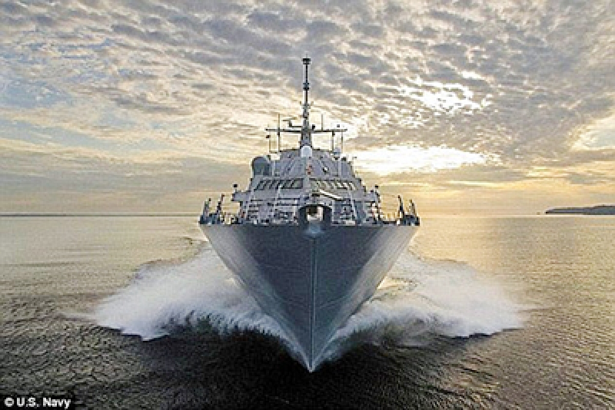 Disaster as latest US  warship breaks down