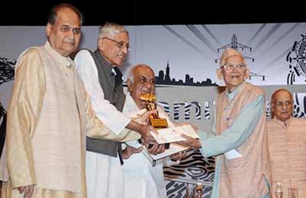 Gandhians honoured with Jamnalal Bajaj Awards