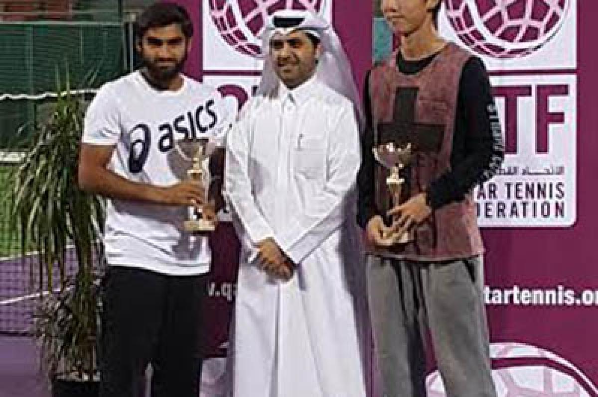 Haadin wins maiden title