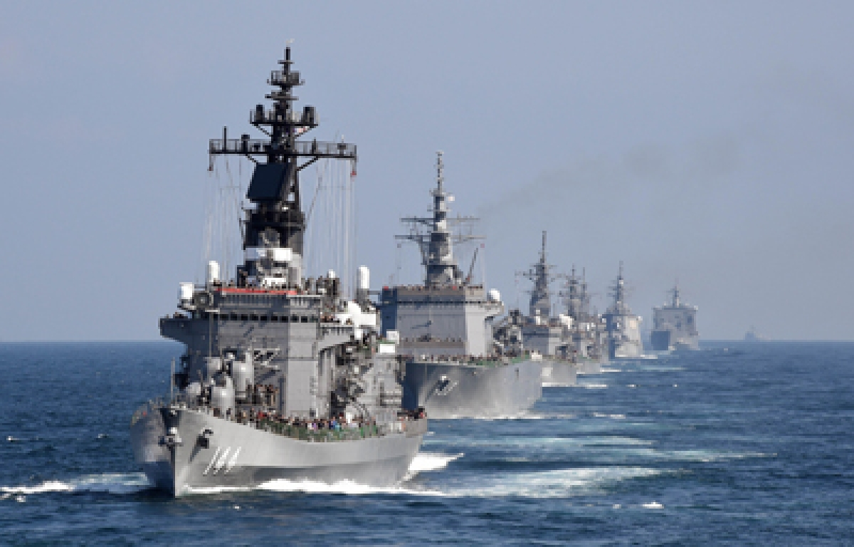 India to invite China's foe Australia to join the annual Malabar naval exercise