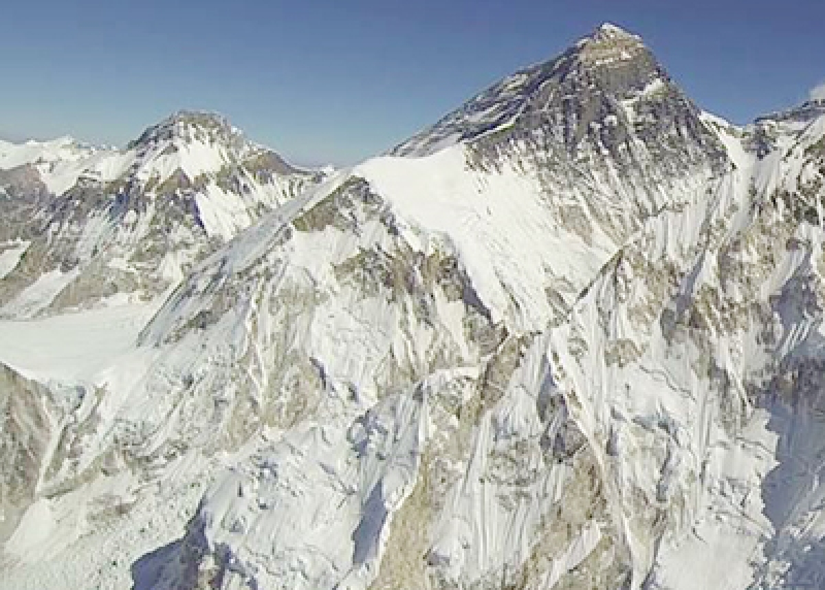'Glaciers in Mt Everest shrink 28% in 40 yrs'