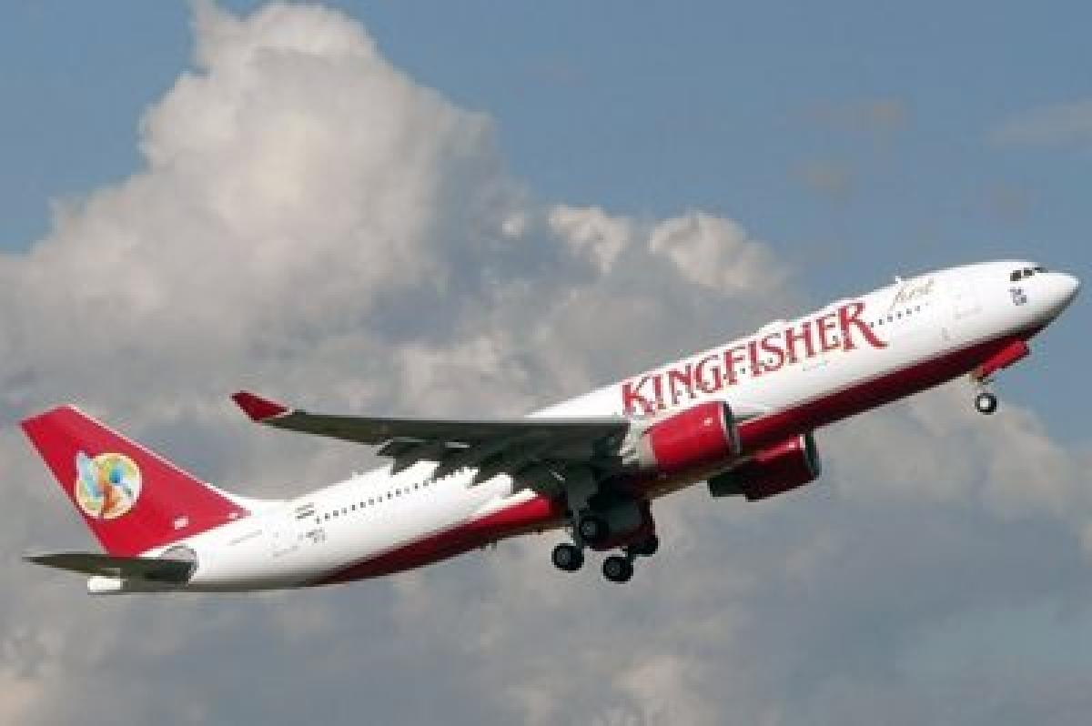 Airplane in flight