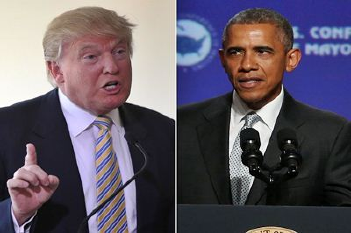 Donald Trump leads Republicans in slamming Barack Obama on his ISIS policy