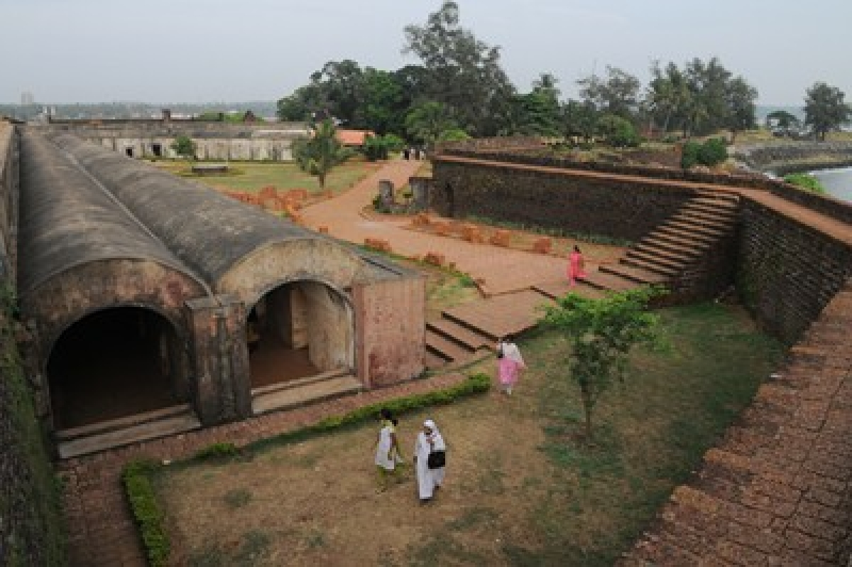 Huge quantity of cannon balls unearthed at Kannur fort