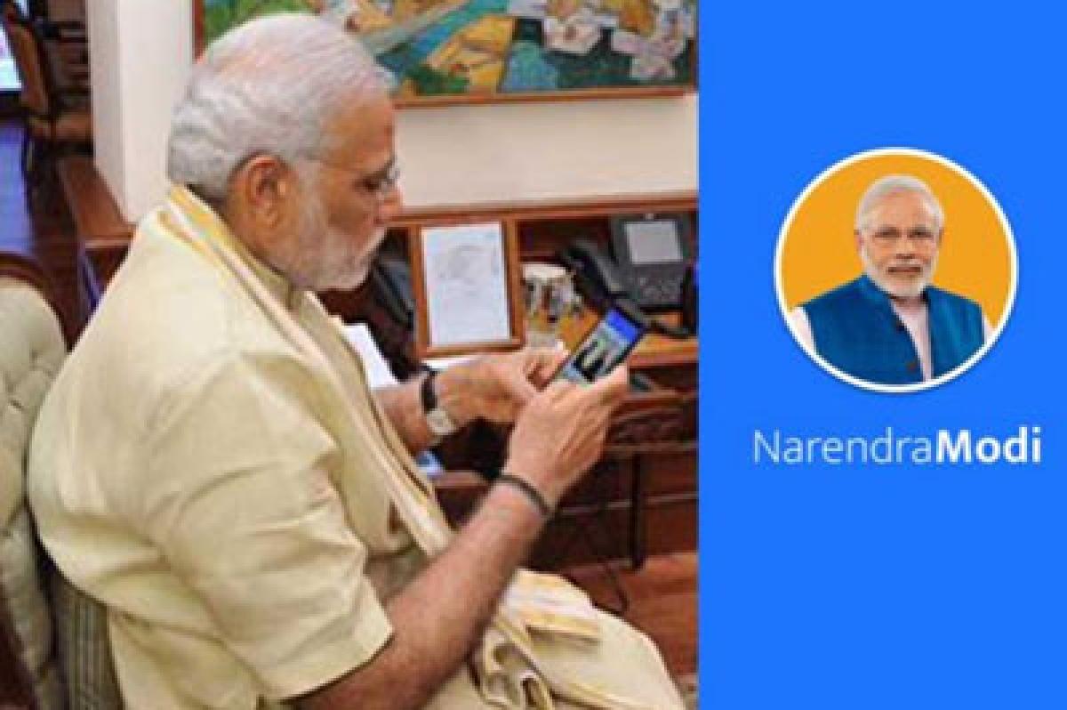 Now a 'NarendraModi Mobile App'
