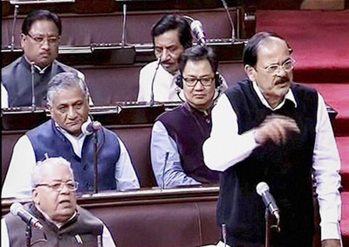 Happy news that members use mother tongue during the debate: Venkaiah Naidu