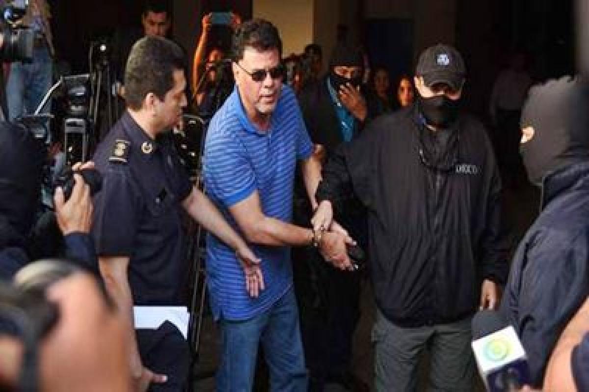 El Salvador ex-football chief arrested in FIFA probe