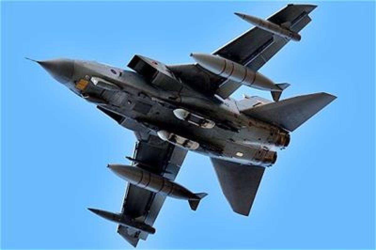 Britain launches first Syria air strikes