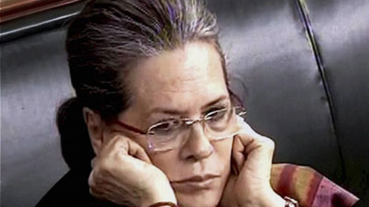 Sonia Gandhi takes oath in Lok Sabha amid BJP barbs