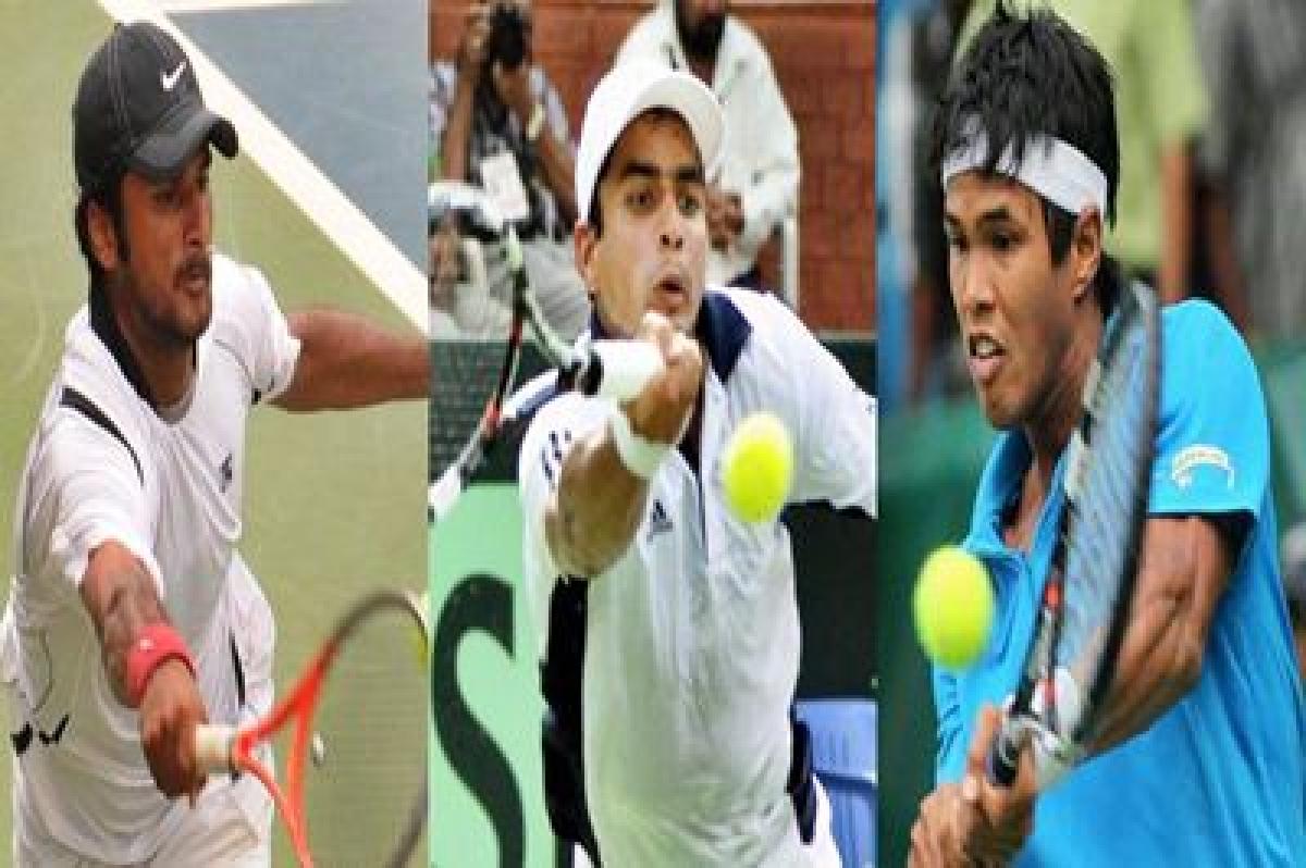 Saketh, Somdev, Sanam to vie for Chennai Open main draw