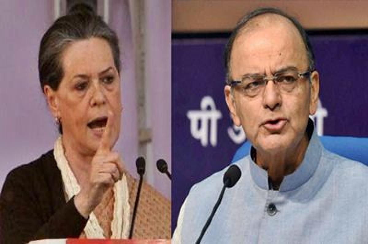 DDCA row: Sonia trashes Arun Jaitley's allegation