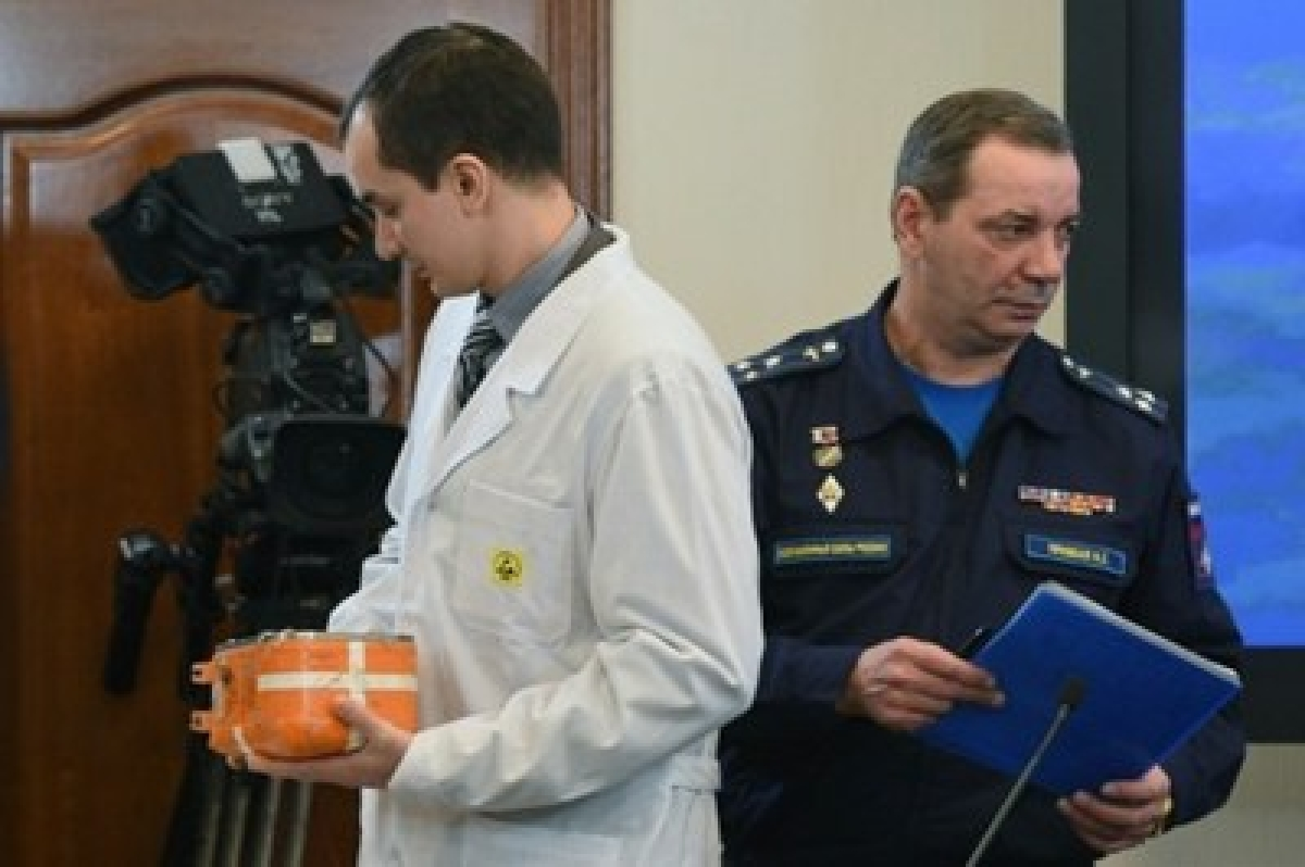 Russia opens black box of jet downed by Turkey
