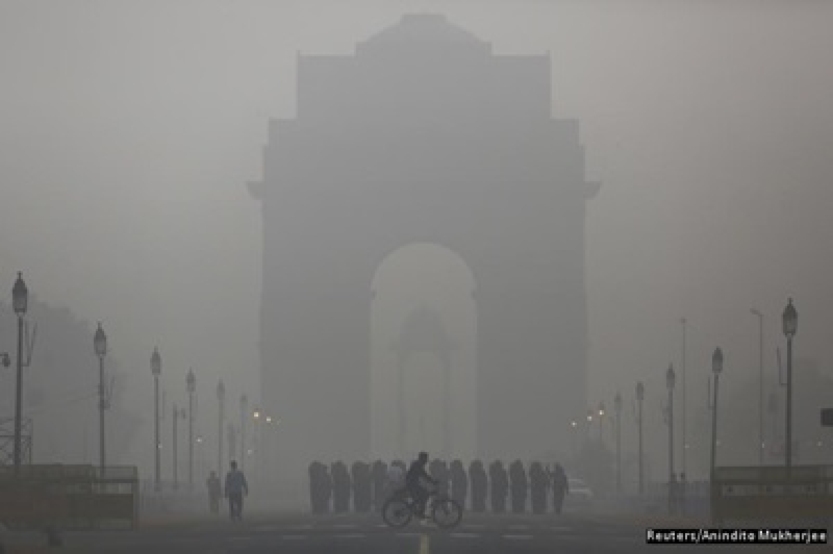 Delhi's Pollution One-And-Half Times Worse Than Beijing