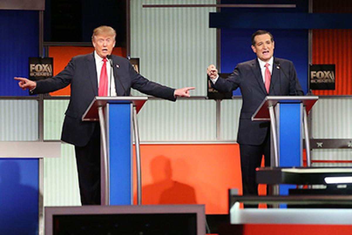 Cruz beats Trump in Iowa; Clinton, Sanders in dead heat
