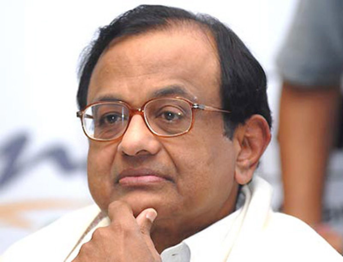 Chidambaram files nomination for Rajya Sabha from Maha