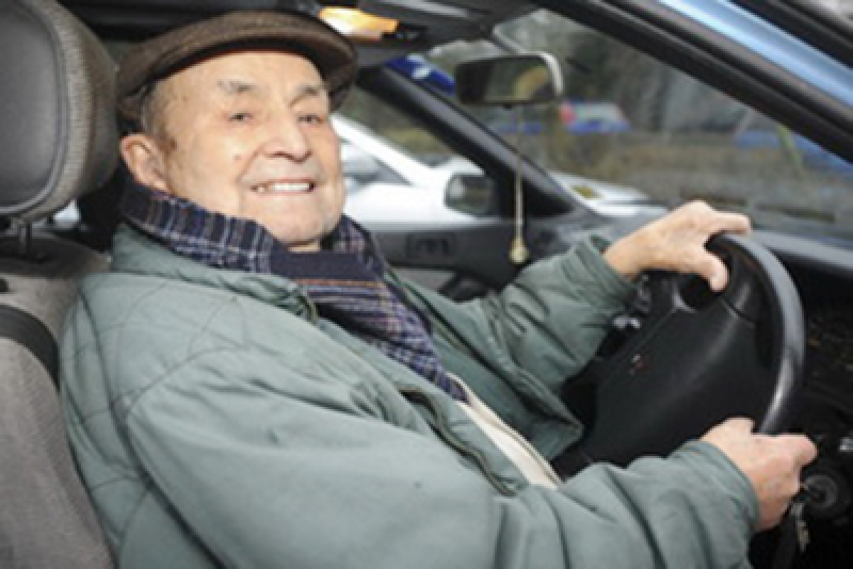 06/01/16 Ne103 year old Giovanni Rozzo who is still driving his car w Project 06/01/16 103 year old Giovanni Rozzo who is still driving his car  Picture: Dave Harwood