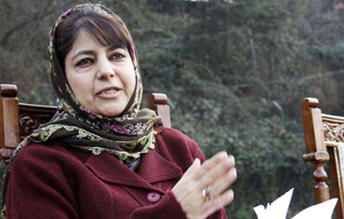 Waiting for centre to consider our demands for J&K: Mehbooba