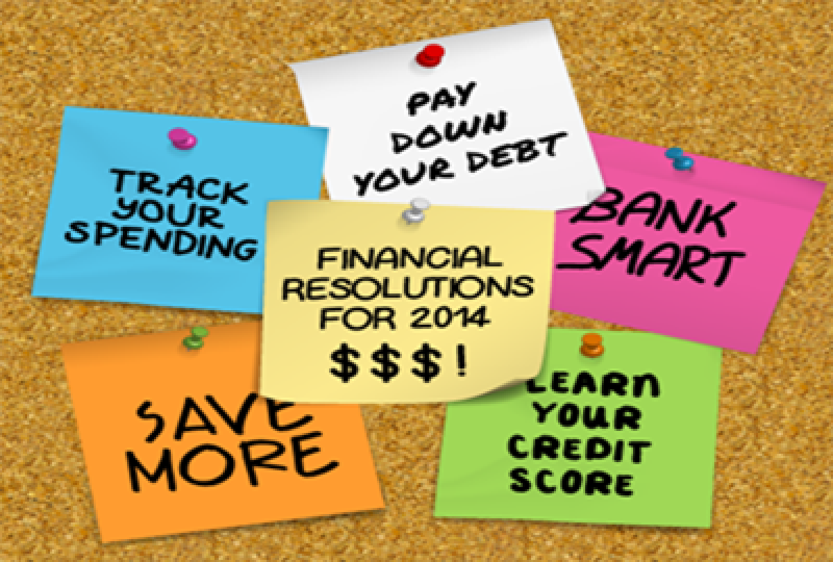 Ten Financial resolutions for the New Year