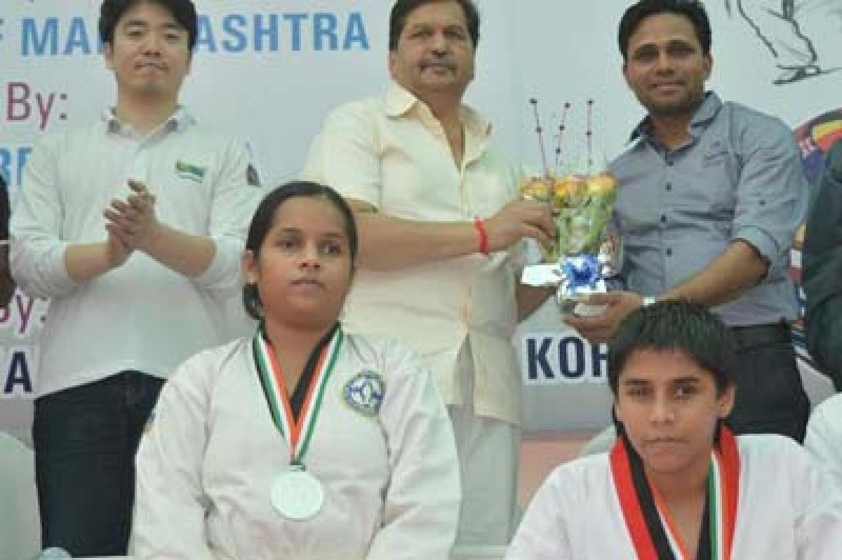 Taekwondo Trophyends on a high note