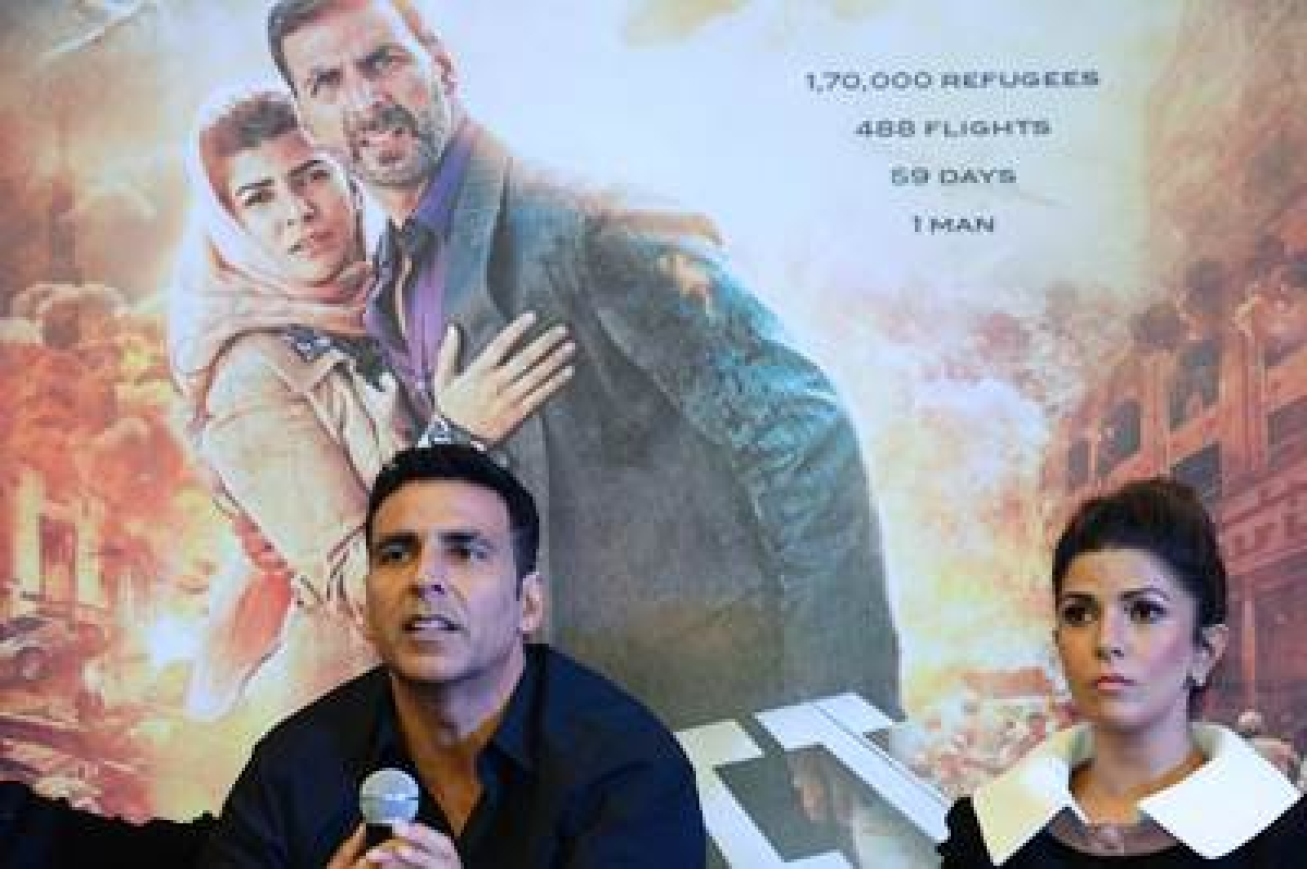 Airlift to show pictures of real life evacuation