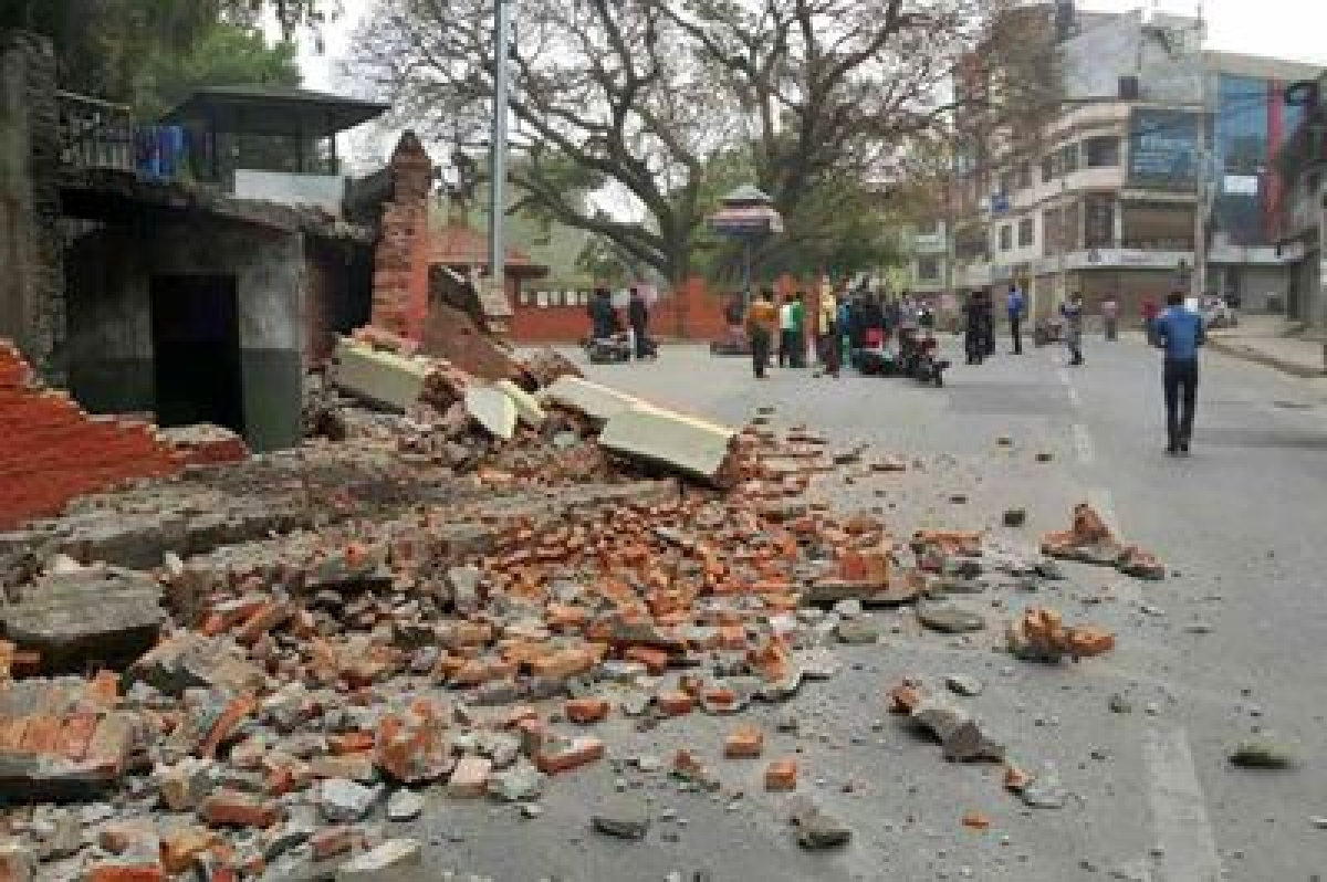 One killed, 30 injured in Manipur earthquake