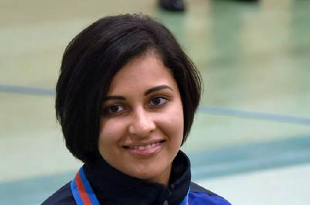 Heena secures Olympic quota with gold medal