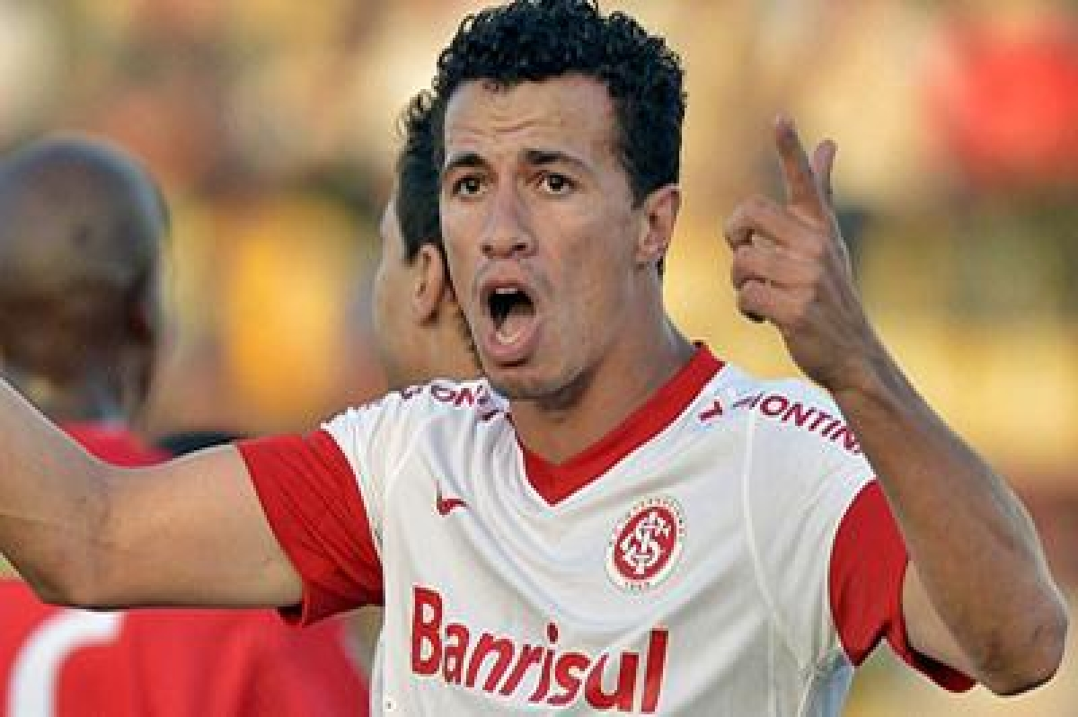 Brazilian striker Damiao arrives in Seville to join Real Betis